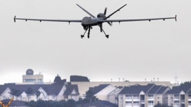 By 2020, the FAA expects 30,000 unmanned aerial vehicles — some as small as birds — to be peering down on U.S. soil.