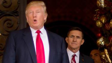 Donald Trump and Michael Flynn.
