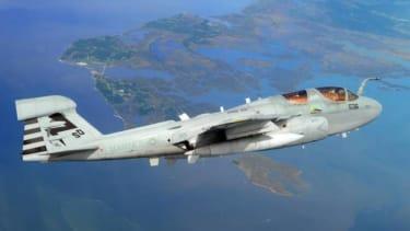 Military biofuel plane