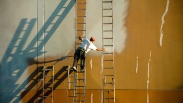 A worker in California.