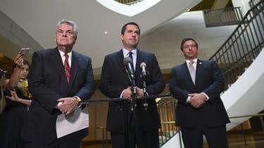 Rep. Devin Nunes, Rep. Peter King, and Rep. Ron DeSantis.