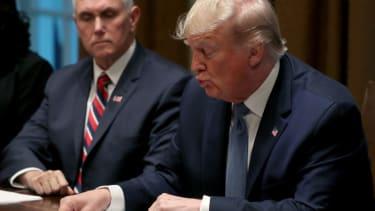 Trump reads the DOJ inspector general's report