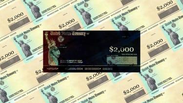 Treasury Checks for $2000