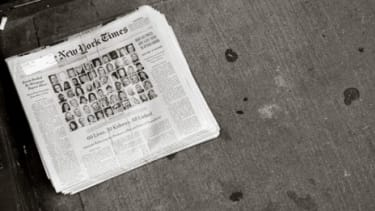 A February 2012 edition of The New York Times