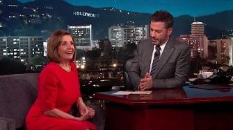 Nancy Pelosi talks impeachment with Jimmy Kimmel