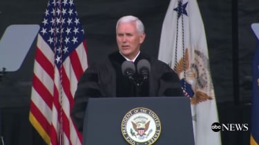 Vice President Pence speaks at Grove City College