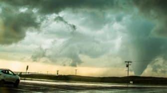 Tornado in Canadian, Texas.