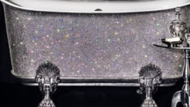 The blinged-out bath