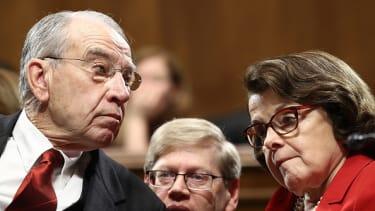Sen. Chuck Grassley and Sen. Dianne Feinstein.