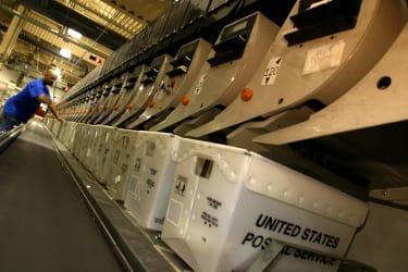 usps processing machine