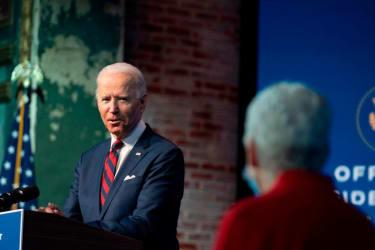Biden introduces his climate team