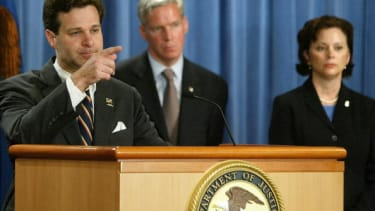 Former Assistant U.S. Attorney General Christopher Wray in 2003.