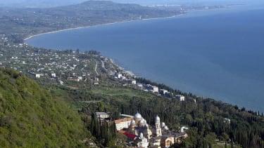 The Black Sea.