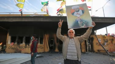 Protesters claim victory after storming U.S. Embassy in Baghdad