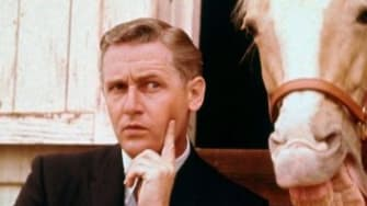 """Alan Young as Wilbur Post on """"Mister Ed"""""""