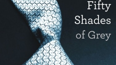 Barnes & Noble credits E.L. James' popular book series Fifty Shades of Grey for strong growth in its quarterly sales numbers.