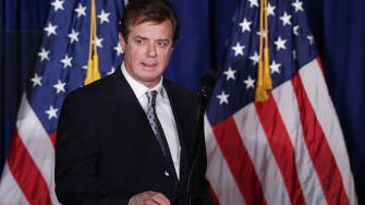 The Times reports that Donald Trump's campaign chief Paul Manafort helped lay the groundwork for the Russian annexation of Crimea.