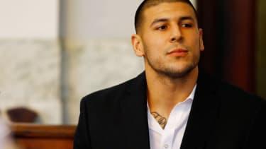 Aaron Hernandez.