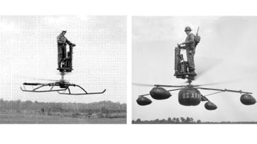 The flying blender