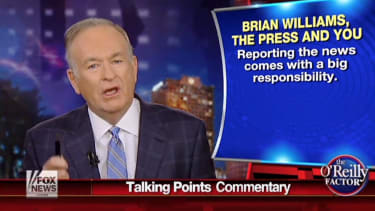 """Does Bill O'Reilly have a """"Brian Williams problem""""?"""