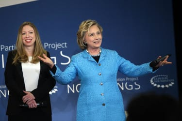 'Baby truthers' see Chelsea Clinton's pregnancy as an elaborate Clintonian scheme