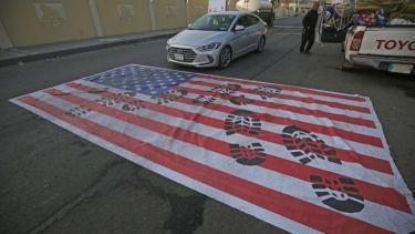 Anti-America propaganda in Iraq