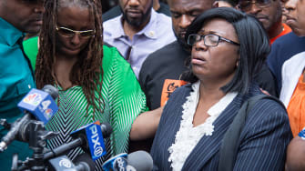 Rose McPhatter, the mother of shooting victim Ronald McPhatter.