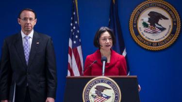 Former U.S. attorney Jessie Liu.