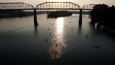 The Tennessee River in Chattanooga.
