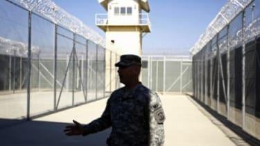 Bagram air base.