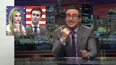 John Oliver does not have enough information to evsiscerate Jared and Ivanka