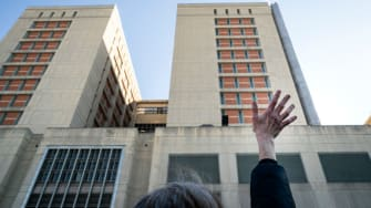 Brooklyn Metropolitan Detention Center.