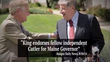 Republicans praise independent candidate in bid to win Maine gubernatorial election