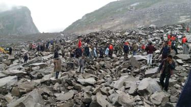 Deadly landslide in China