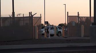 Border Patrol facility in Clint, Texas