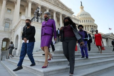 Members of the Congress Black Caucus.