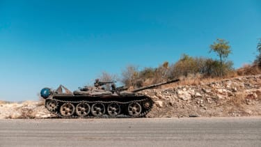 Tank in Ethiopia.