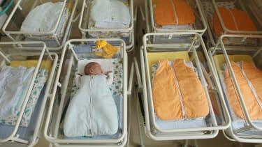 A maternity ward.