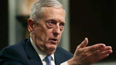 Defense Secretary nominee, retired Marine Corps Gen. James Mattis.