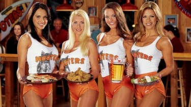 Hooters has inspired an entire sub-industry of restaurants that serve pub fare with an ample side of skin.