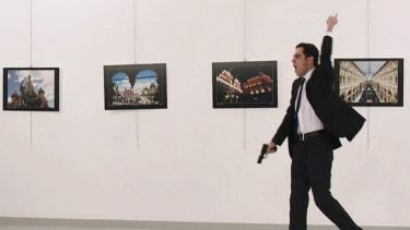 A gunman opens fire in Turkey