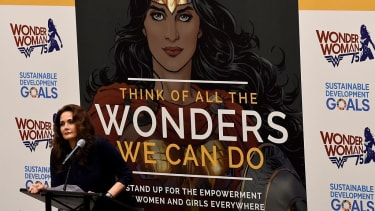 Wonder Woman was named an honorary ambassador two months ago.