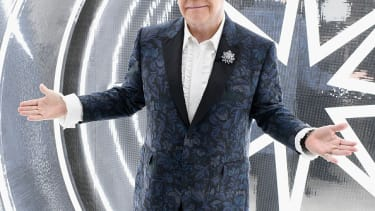 Elton John at the Elton John AIDS Foundation's Academy Awards Viewing Party.