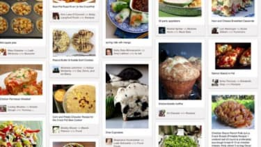 A Pinterest pinboard: Users can focus on a topic, like cooking, and share ideas, images, and recipes with their followers.