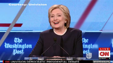 Hillary Clinton says she isn't a natural politician