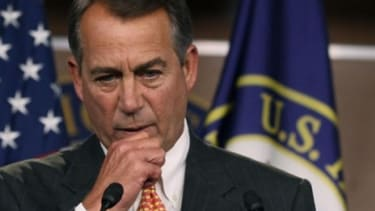 House Speaker John Boehner (R-Ohio) and his Republican caucus are stubbornly refusing a very favorable debt deal, says David Brooks at The New York Times.