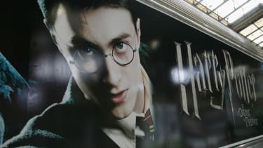 A poster for Harry Potter And the Order Of The Phoenix