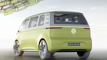 Meet BUDD-E, the self-driving Volkswagen microbus.
