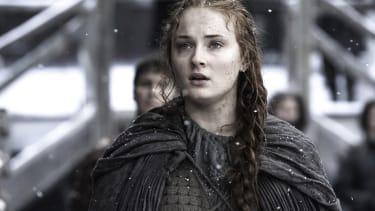 Sophie Turner portrays Sansa Stark in Game of Thrones.