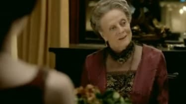 Maggie Smith as Dowager Countess